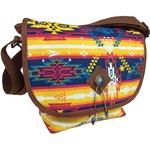 メッセンジャーバッグ/鞄 インディアン・モトサイクル社製 カブセ部分2段階調節可 インカ柄