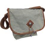 メッセンジャーバッグ/鞄 インディアン・モトサイクル社製 カブセ部分2段階調節可 ヒッコリー柄