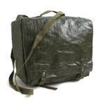 チェコ軍放出 防水布PVCコンバットショルダーバッグ未使用デットストック