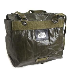 【訳あり・在庫処分】チェコ軍放出 防水布PVCコンバットショルダーバッグ未使用デットストック