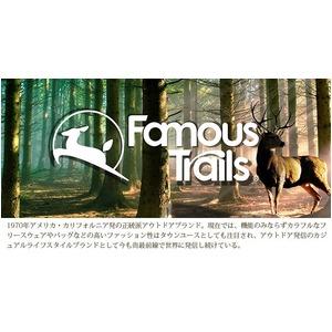 7倍強度「ナイロンCORDURAファブリック」カルフォルニアブランド「Famous Trails」デイバック グリーン