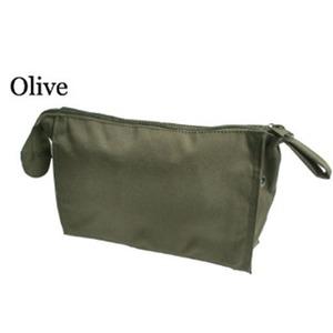 US軍 裏防水布使用エチケットポーチレプリカ オリーブ - 拡大画像