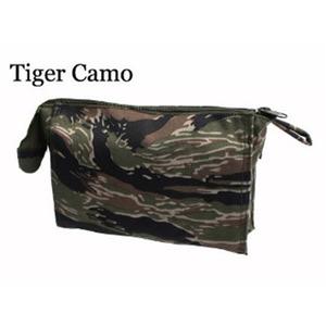 US軍 裏防水布使用エチケットポーチレプリカ タイガー - 拡大画像