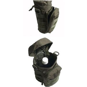 US軍裏防水布使用モール対応1リットル対応ドリンクウェストポーチレプリカ コヨーテブラウン