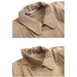 イタリア軍放出フランネルシャツ ライトブラウン未使用デットストック品 《1(L相当)》