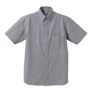 クールビズ対応オックスフォードボタンダウン半袖シャツ CB1068 O X ホワイト XLサイズ