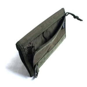 モール対応防水布仕様ウォーレット ブラック