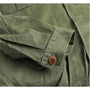 ベルギー軍放出 ファーティングシャツ釦タイプ 【中古】 L相当