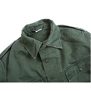 ベルギー軍放出フィールドシャツスナップボタンタイプ【中古】 M相当