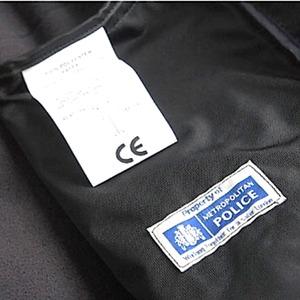 ロンドン警視庁放出 ポーラテックフリースジャケット ブラック未使用デットストック 《95-167》