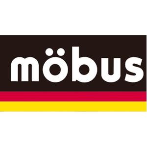 水に強いドイツブランド Mobus(モーブス) 多機能防水生地18リッターメッセンジャーバッグ ブラック/レッド f06