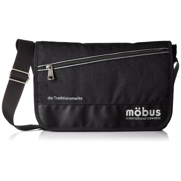 ドイツブランド Mobus(モーブス) メッセンジャーバッグ ブラックf00