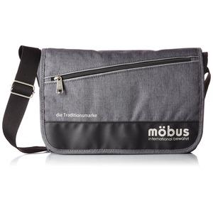 ドイツブランド Mobus(モーブス) メッセンジャーバッグ グレー - 拡大画像