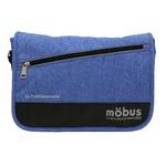 ドイツブランド Mobus(モーブス) メッセンジャーバッグ ブルー