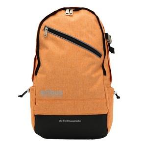 ドイツブランド Mobus(モーブス) PCポケット完備B4サイズビジネスライクバッグバッグ オレンジ h01