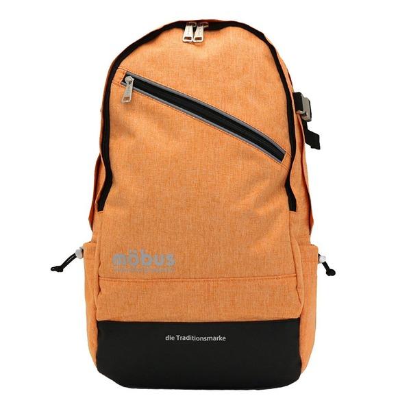 ドイツブランド Mobus(モーブス) PCポケット完備B4サイズビジネスライクバッグバッグ オレンジf00
