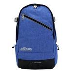 ドイツブランド Mobus(モーブス) PCポケット完備B4サイズビジネスライクバッグバッグ ブルー