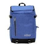 ドイツブランド Mobus(モーブス) トップオープンカンケンスクウェアーバッグ ブルー