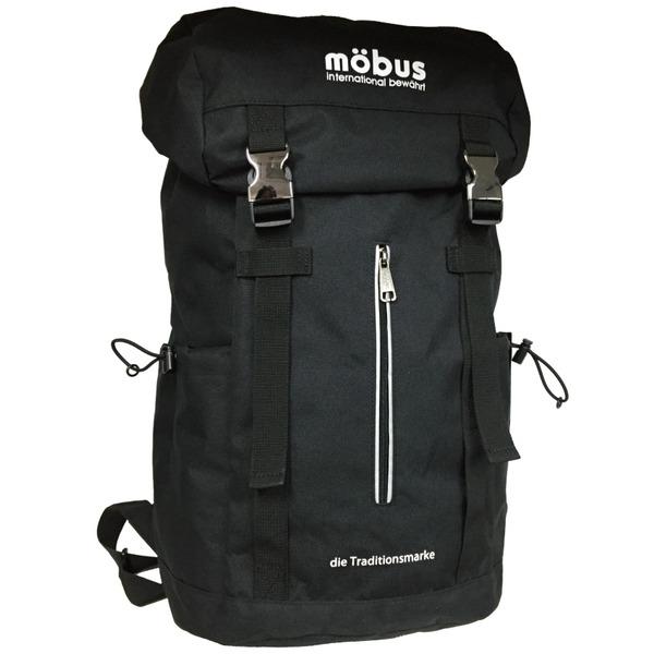 ドイツブランド Mobus(モーブス) ラップトップスクエアーバッグ25リッター ブラックf00