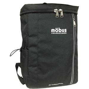 ドイツブランド Mobus(モーブス) スクエアーバッグ27リッター ブラック h01