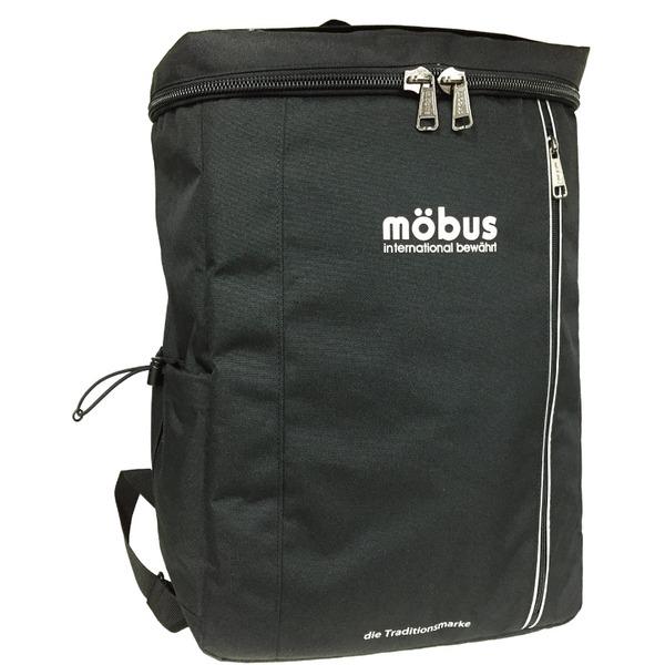 ドイツブランド Mobus(モーブス) スクエアーバッグ27リッター ブラックf00