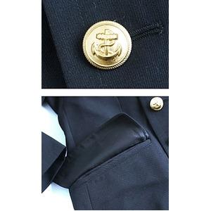 ドイツ連邦国海軍放出 ウールロングライナー付ピ...の紹介画像4
