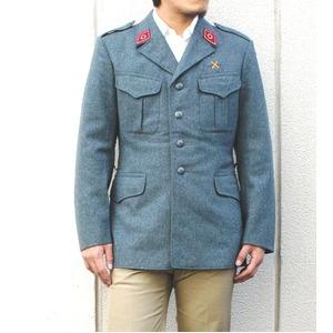 スイス軍放出 ウールジャケット グレー 【中古】 《 XL相当》