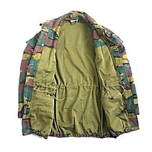 ベルギー軍放出 M90 カモフラージュジャケット 【中古】 《 M相当》