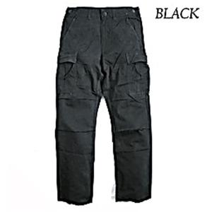アメリカ軍 BDU パンツ コットンスリムレプリカ ブラック XS