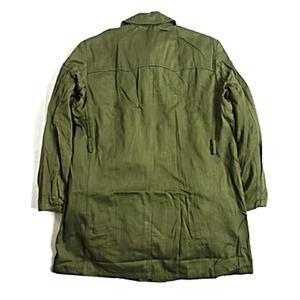 ハンガリー軍放出 フィールドコート未使用デットストック オリーブ《46( L相当)》