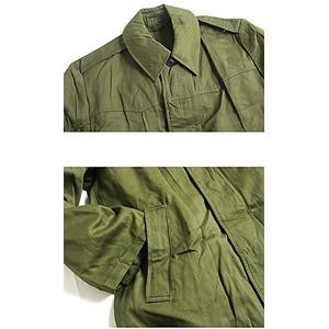 ハンガリー軍放出 フィールドコート未使用デットストック オリーブ《48( XL相当)》