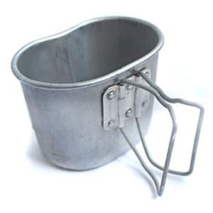 フランス軍放出カンティーンカップアルミ未使用デットストック