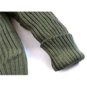 オランダ軍放出ウールコマンドセーターイギリスKempton社製未使用デットストック オリーブ