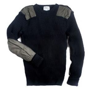 オランダ軍放出ウールコマンドセーターイギリスKempton社製未使用デットストック ブラック