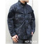 3Dステレスオペレーターリップストップジャケット ブラック M