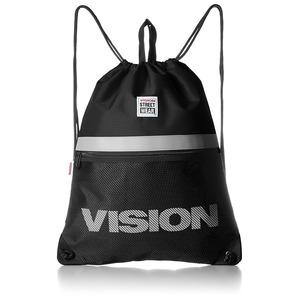 VISION(ビジョン)大型リフレクター付ナップザックブラック