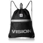 VISION(ビジョン)大型リフレクター付ナップザック ブラック