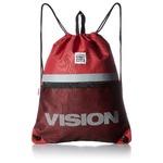 VISION(ビジョン)大型リフレクター付ナップザック レッド