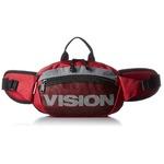 VISION(ビジョン)500mlのペットボトルも入るウェスト&ボディ2WAYバッグ レッド