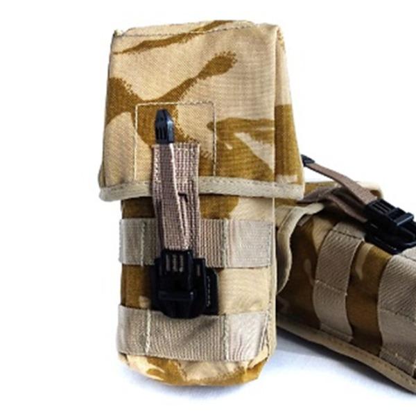 イギリス軍放出 SA80アンモポーチ デザートDPM中古