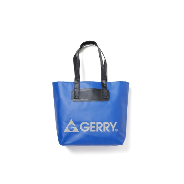 GERRY超軽量完全防水バケツ代わりにもなるトートバッグ ネイビーf00