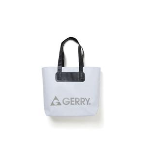 GERRY超軽量完全防水バケツ代わりにもなるトートバッグホワイト