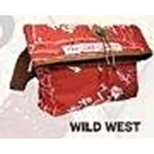 ネイティブアメリカン「インディアンモトサイクル」ブランド口折れショルダーバックA4 WILD WEST(ワイルドウェスト)