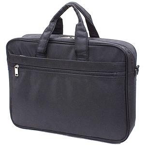 B4サイズ対応2WAYビジネスバッグ  ブラック h01