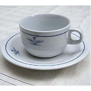 イタリア軍放出 A.M.I.コーヒカップ&ソーサ 未使用デットストック