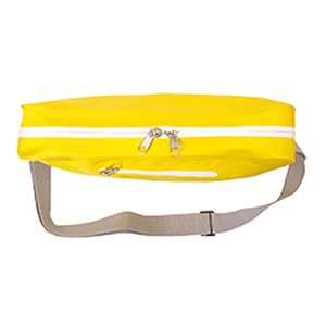 GERRY超軽量防水ターボリン使用ビーンズ型ファニーショルダーバッグ ホワイト f04