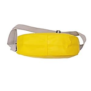 GERRY超軽量防水ターボリン使用ビーンズ型ファニーショルダーバッグ ホワイト f05