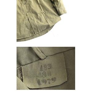 ルーマニア軍放出フィールドシャツデットストック...の紹介画像5
