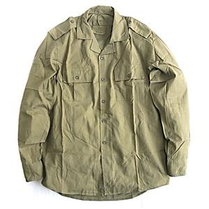 ルーマニア軍放出フィールドシャツデットストック オリーブ 48