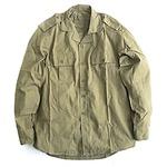 ルーマニア軍放出フィールドシャツデットストック オリーブ 50